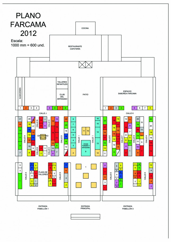 Plano Feria Farama 2012