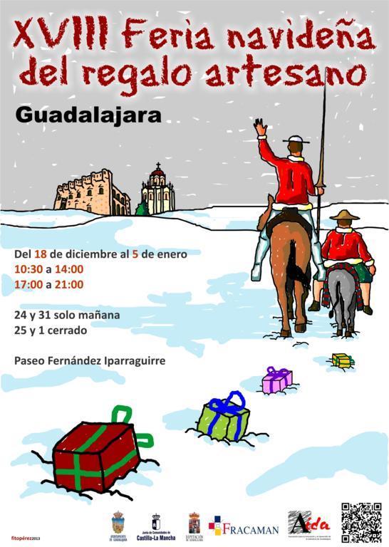 Video de la inauguración XVIII Feria de Artesanía de Navidad de Guadalajara