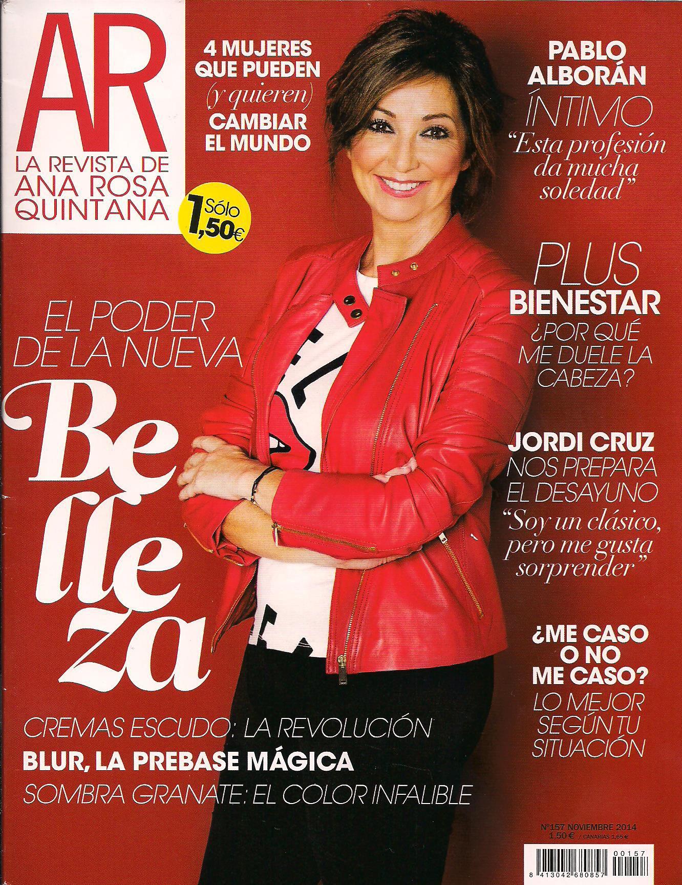 Portada Revista AR, El jabon recupera su sitio,