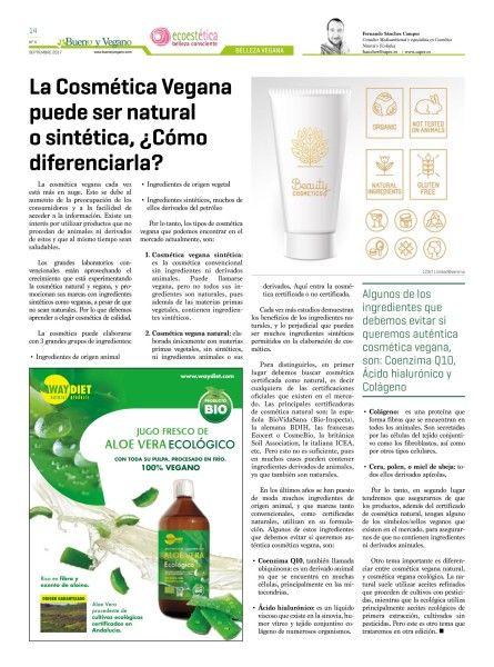 ByV_Sept_La Cosmetica Vegana puedes ser natural o sintetica, ¿como diferenciarla¿