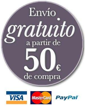 Envío gratuito para envíos superiores a 50 euros