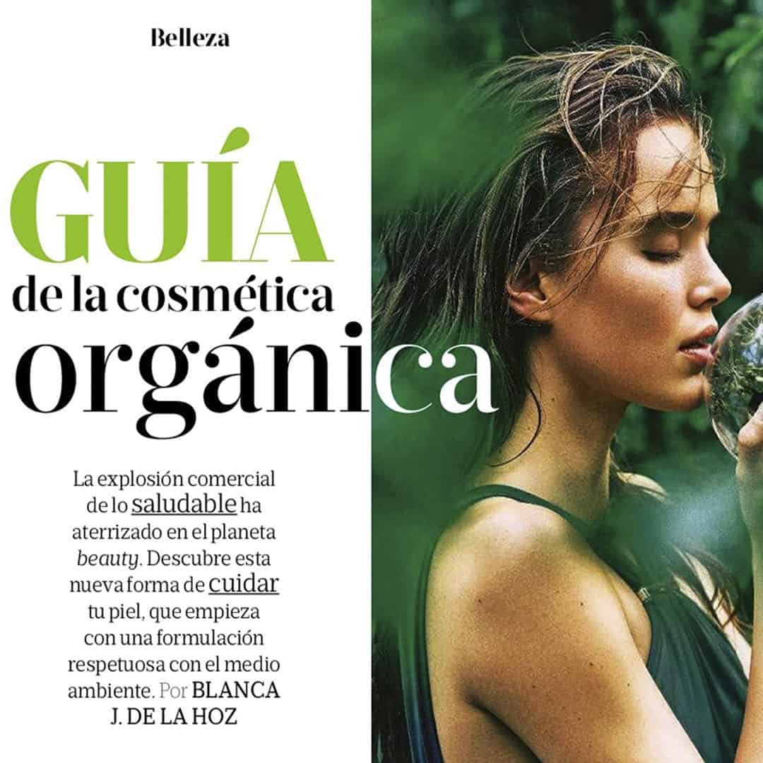 Top 10 de las firmas bio made in spain. Reportaje Cosmética Orgánica Revista MujerHoy